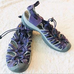 KEEN Purple Whisper Waterproof Sandals Size 10
